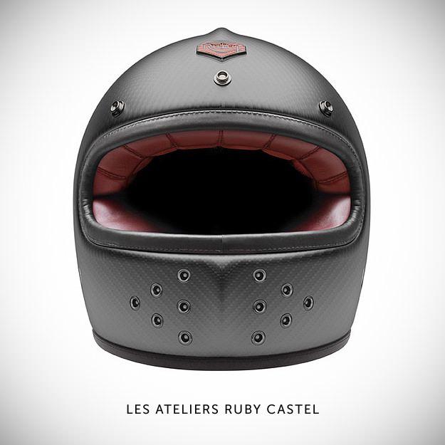 Full Face Helmets Motorcycle Helmets Cafe Racer Helmet Ruby Helmets