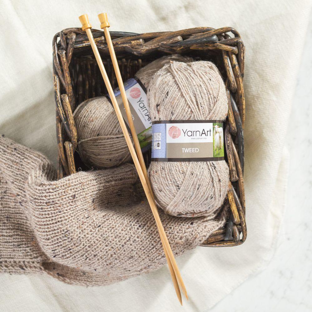 YarnArt Tweed Knitting Yarn, with its high quality