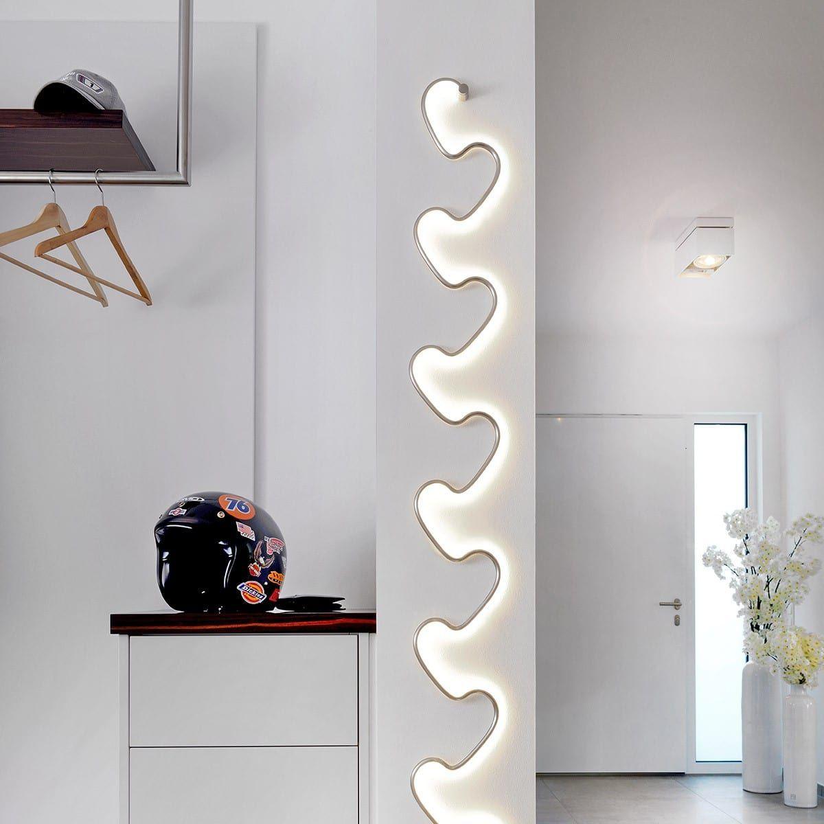 Sompex Step Led Wandleuchte Aluminium Led Wandleuchten Innen Wandleuchten Innen Wandleuchte