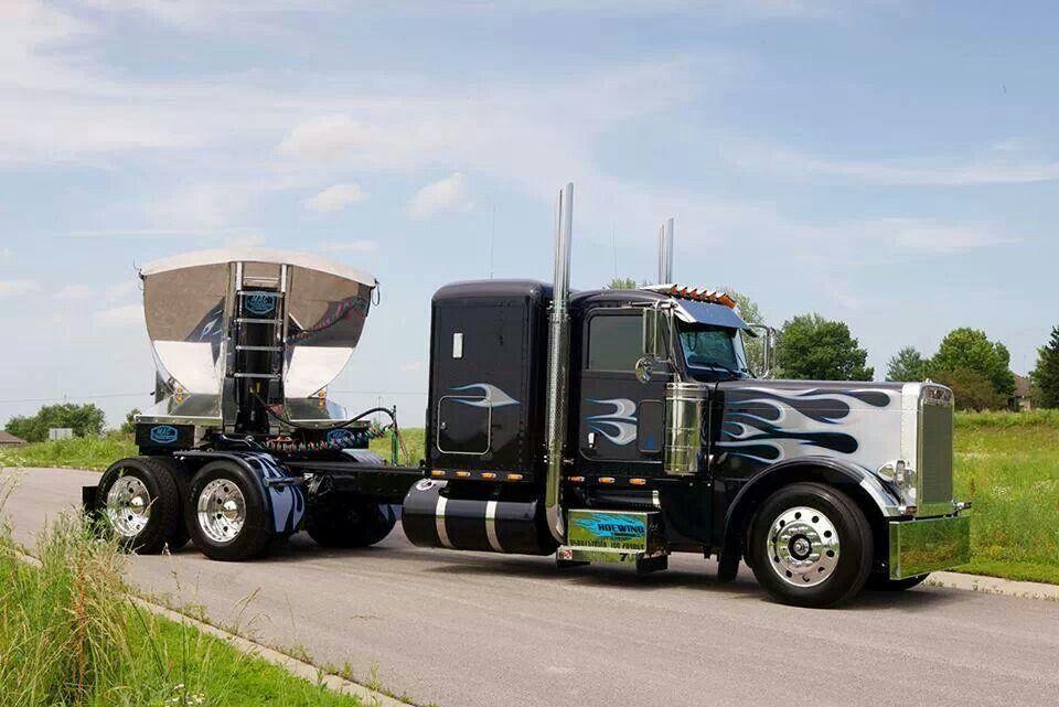 Peterbilt 379 Big rig trucks, Big trucks