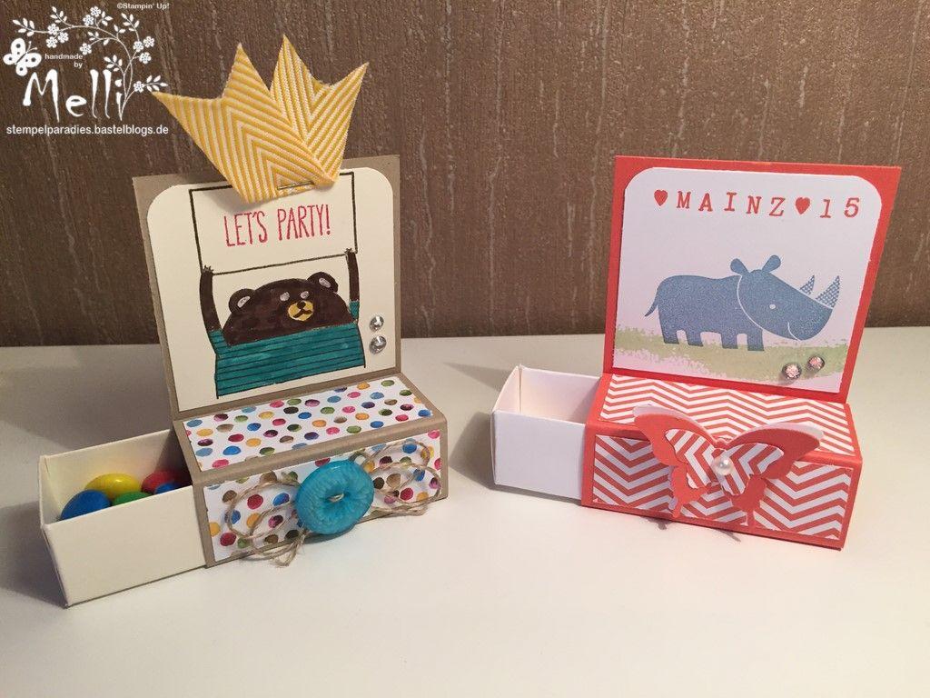 eine bunte kleinigkeit zum kindergeburtstag mit anleitung box pinterest verpackung. Black Bedroom Furniture Sets. Home Design Ideas