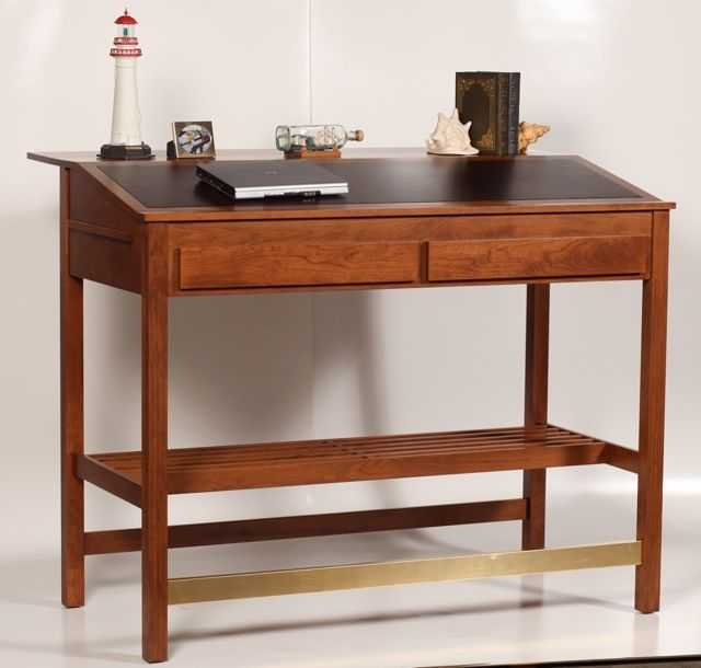 Winston Churchill Stand Up Desk, Bookstand, Drafting Table.choose Wood,  Width, Height And Inlay