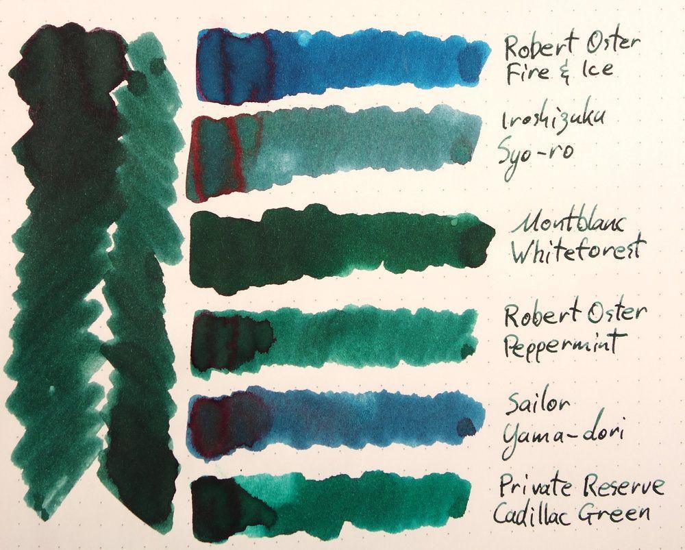 Peppermint Robert Oster Signature Ink