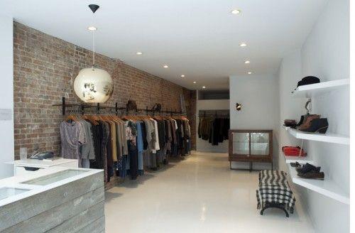 Vintage Boutique Interior Design | ... Shop Interior2 500x328 Limited  Budget Boutique Interior Design