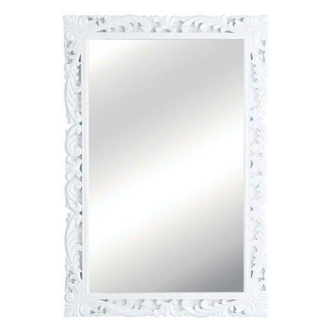 high gloss white framed wall mirror 1101254 - White Framed Mirrors