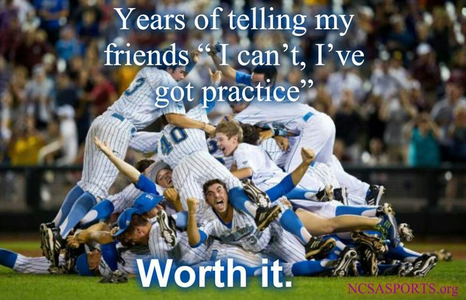 Worth it!! Soccer ) College world series, Baseball