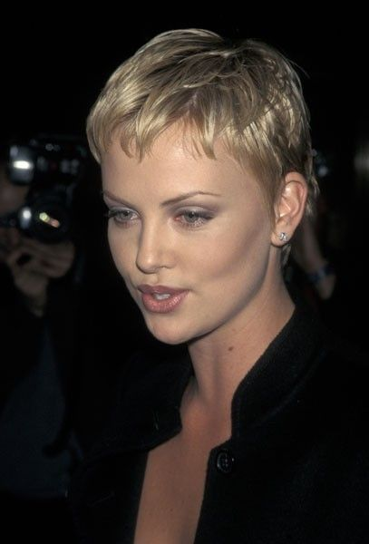 Charlize Theron Short Hair Styles Short Blonde Haircuts