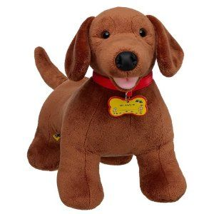 Amazon Com Build A Bear Workshop Dachshund 16 Plush Dog Toys
