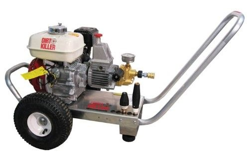 Dirt Killer H357 Cold Water Gas Industrial Pressure Washer with 50 ...