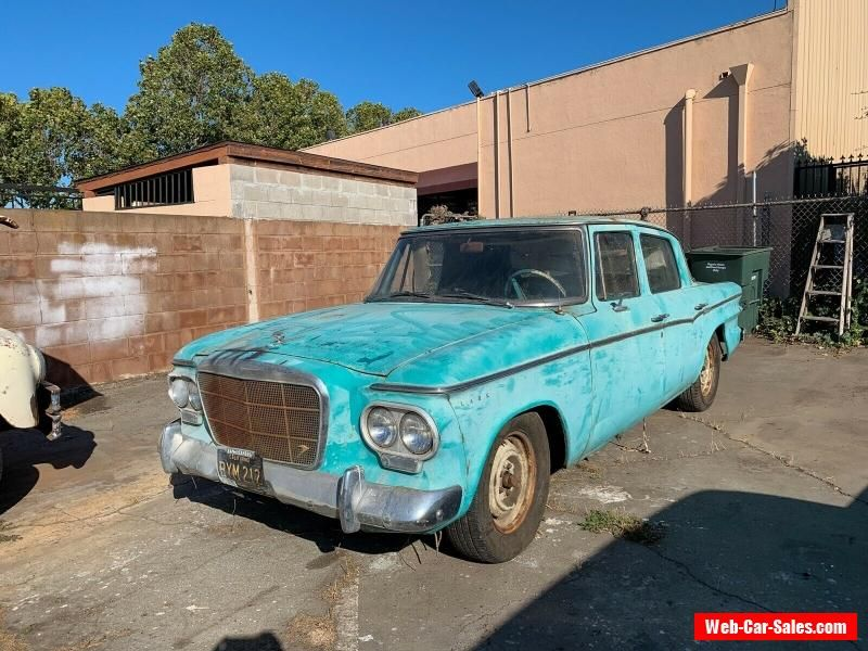 Car For Sale 1962 Studebaker