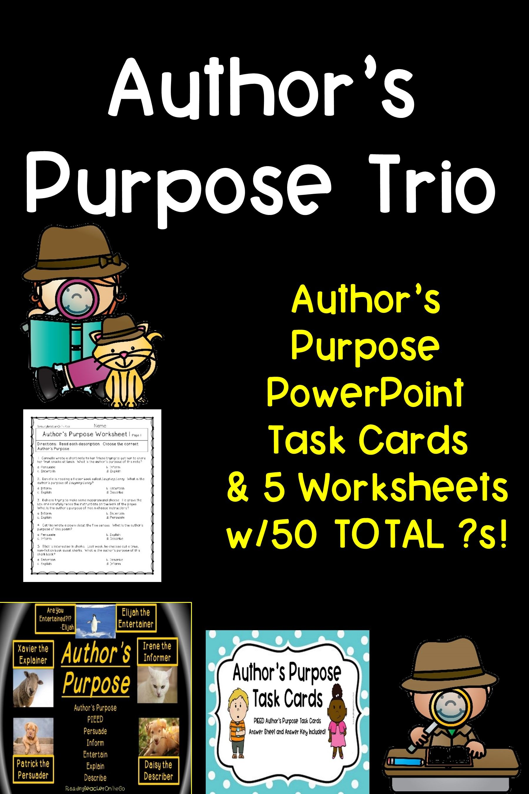 Author S Purpose Trio