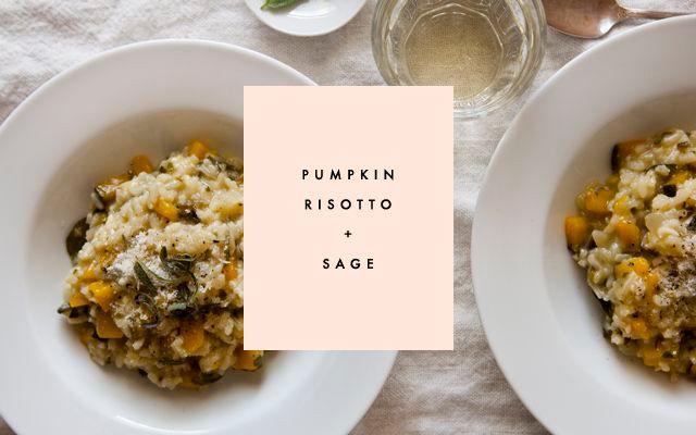 pumpkin rosotto & sage