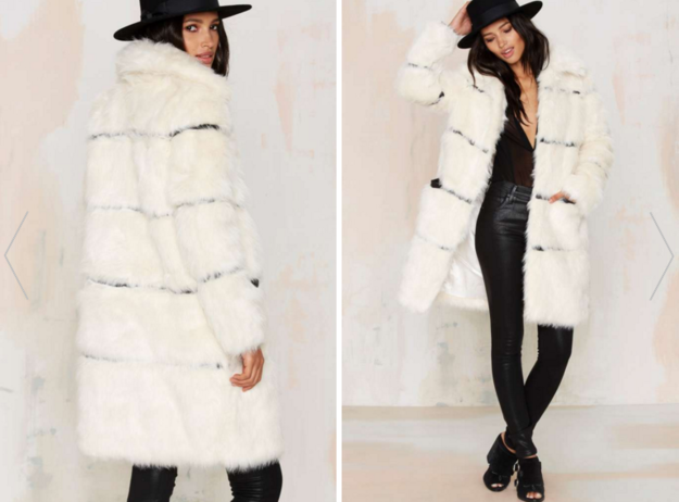 Nightwalker Moss is Boss Faux Fur Coat, $138 | 29 Cozy And Warm Faux Fur Coats That You Need This Winter
