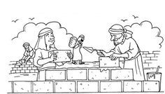 Image Result For Coloring Page Nehemiah Praying Preschool Bible