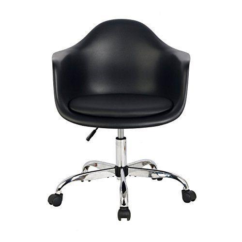 Hodedah Bucket Chair Furnitures Home Office Furniture Desk Chairs Adjule