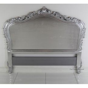 French Headboard French Headboard Silver Headboard Carved Headboard