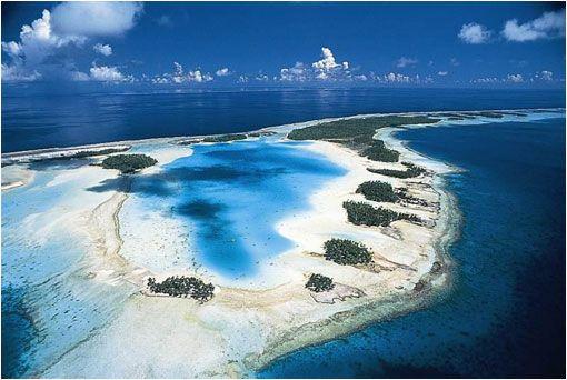Atolón de Rangiroa. Tahití