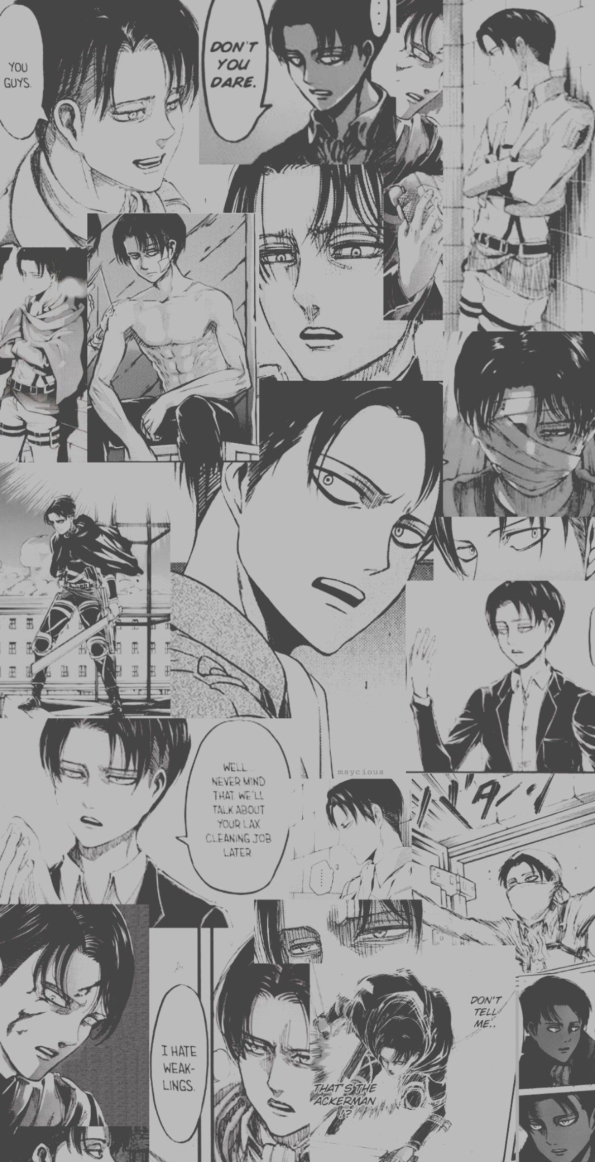 Levi Ackerman Wallpaper Attack On Titan Levi Attack On Titan Anime Levi Ackerman