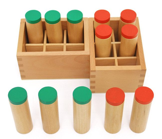 New Wooden Toy Sound Tube Mongolia And Taiwan Montessori Auditory