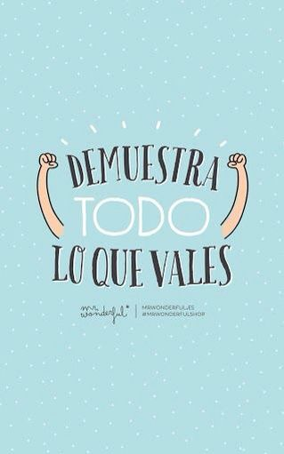 Mr Wonderful Fotos Frases Pinterest Frases Fondos Y