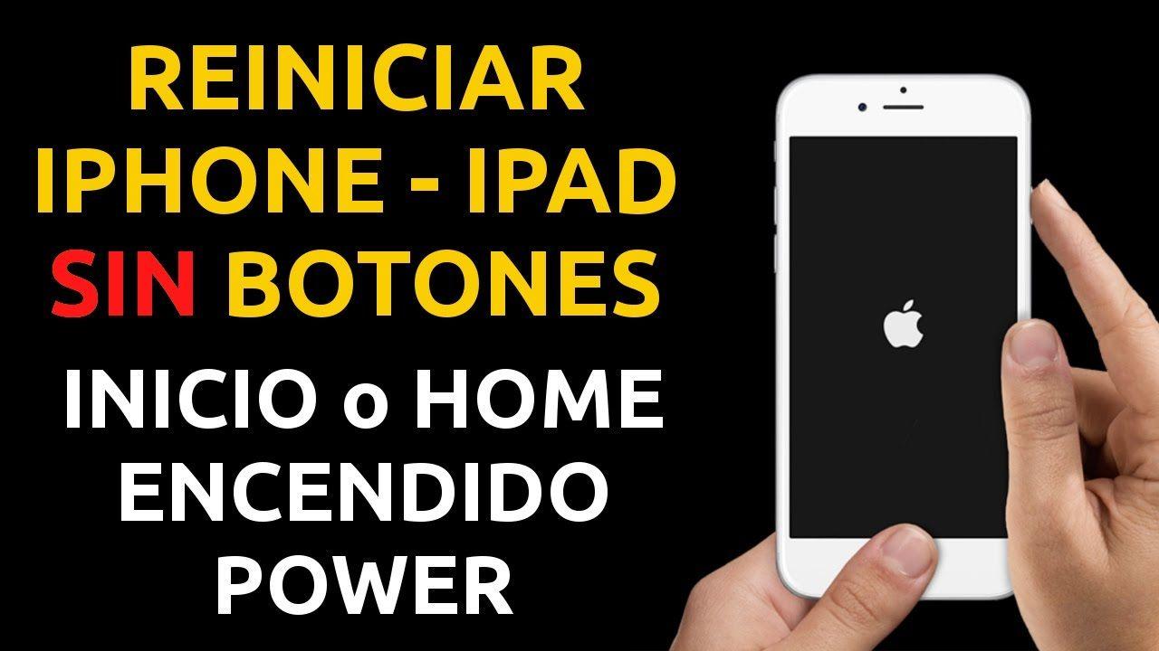 Cómo Reiniciar Un Iphone Ipad Sin Botones Power Inicio Home Un Reinicio De Ios O Hard Reset Http Youtu Be Uxenhpchcl4 Iphone Apple Ios Iphone Iphones Ipad