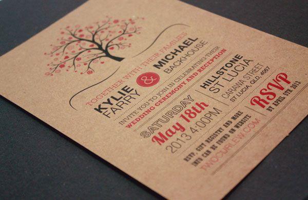 A showcase of creative wedding invitations papery invites a showcase of creative wedding invitations stopboris Image collections