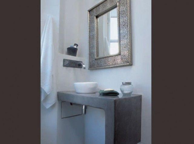 Plans de toilette et vasques, marions-les ! | Tadelakt - waterproof ...