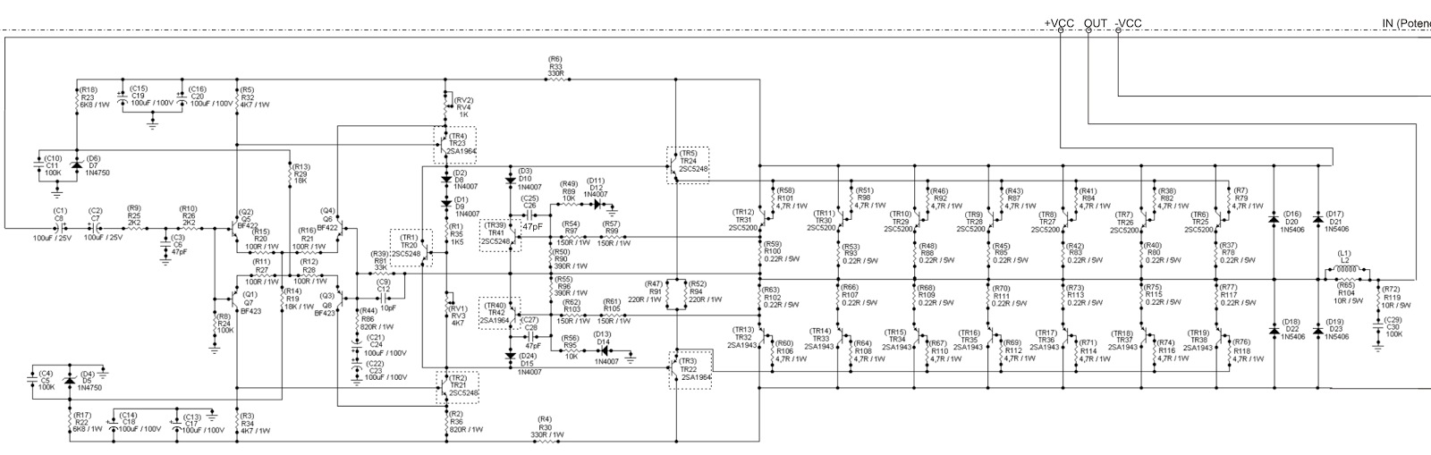 Pin By Mix 808 On High Power Amplifier Designs Pinterest Circuit Easy Hifi Ocl 150w Rms Transistor Electronic Projects Diagram