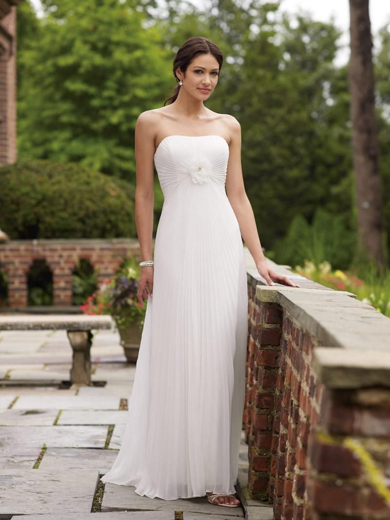 Beautiful Simple Wedding Dresses 2014 - http://heeyfashion.com/2016 ...