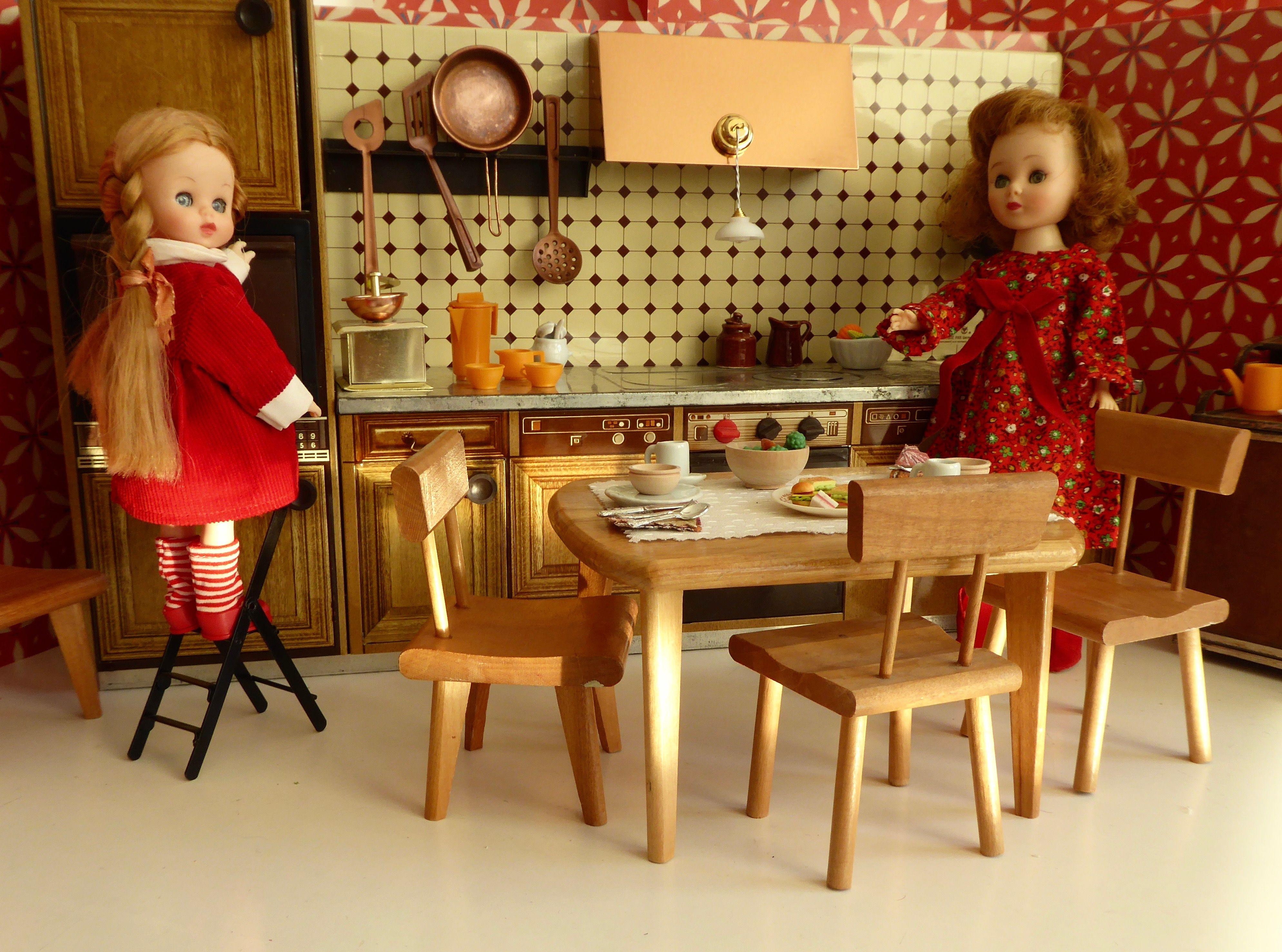 S metal mfz doll kitchen and strombecker furniture ideal for