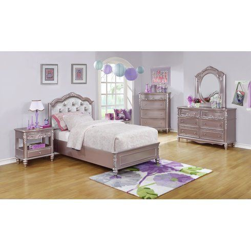 Whitney 7 Piece Bedroom Set | Bedroom | Pinterest | Kids bedroom ...