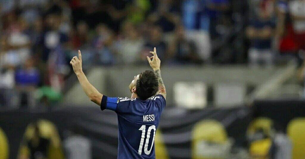 Messi supero a Gabriel O. Batistuta y es el goleador histórico del seleccionado argentino #CA2016 #Messi