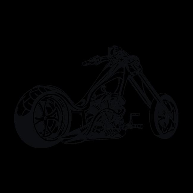 vinilos adhesivos y pegatinas moto chopper