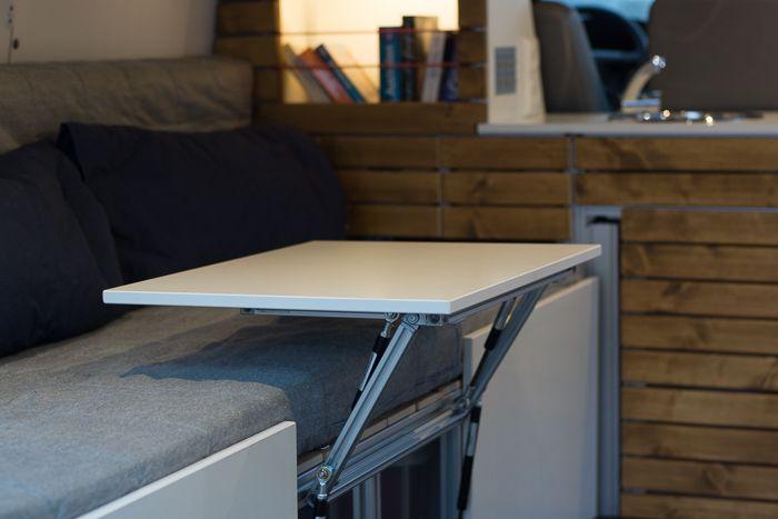 vw t5 campingbus innenausbau tisch camper pinterest. Black Bedroom Furniture Sets. Home Design Ideas