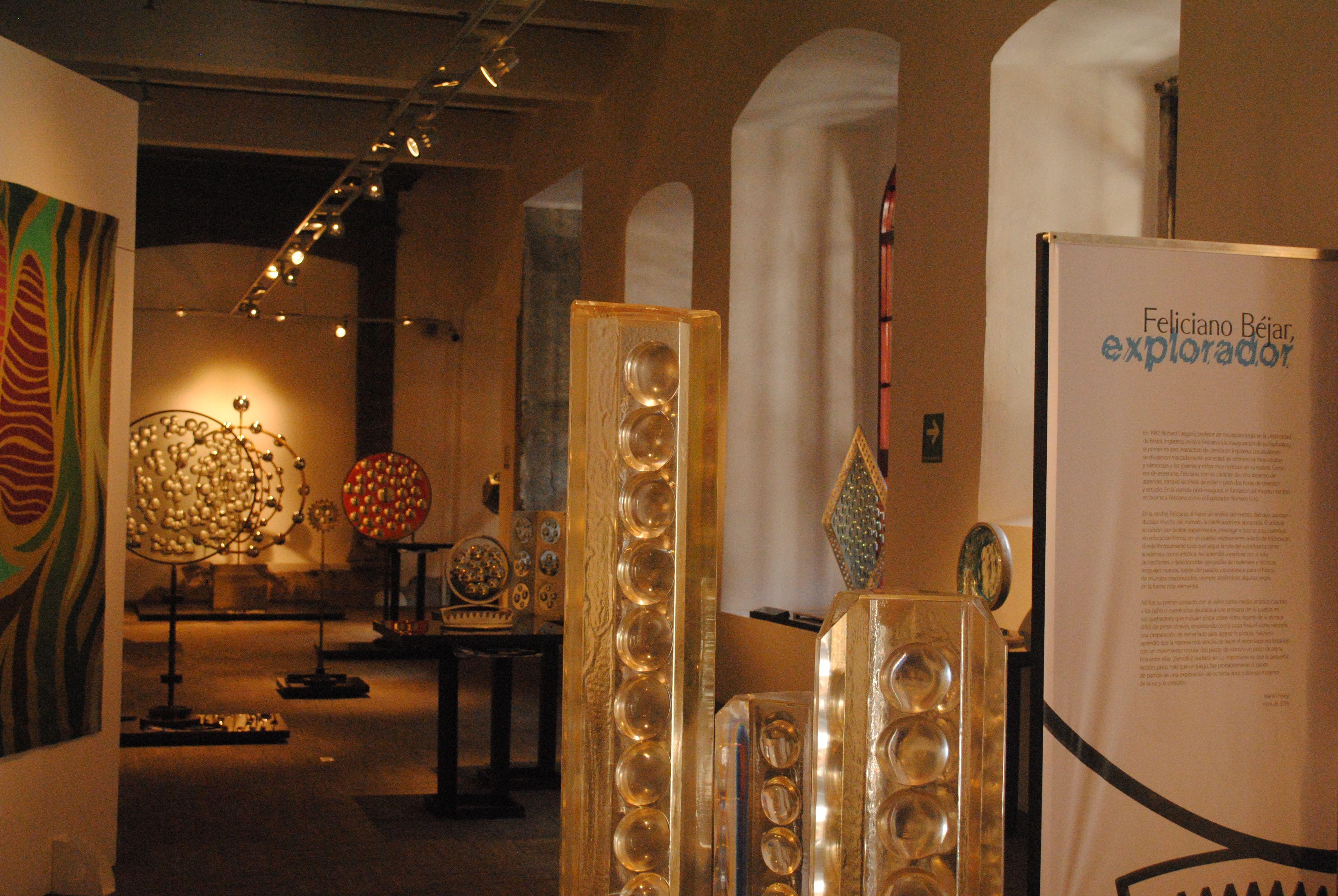 Para Feliciano Béjar el arte es una forma de vida, una manera de vivir en armonía con el mundo.