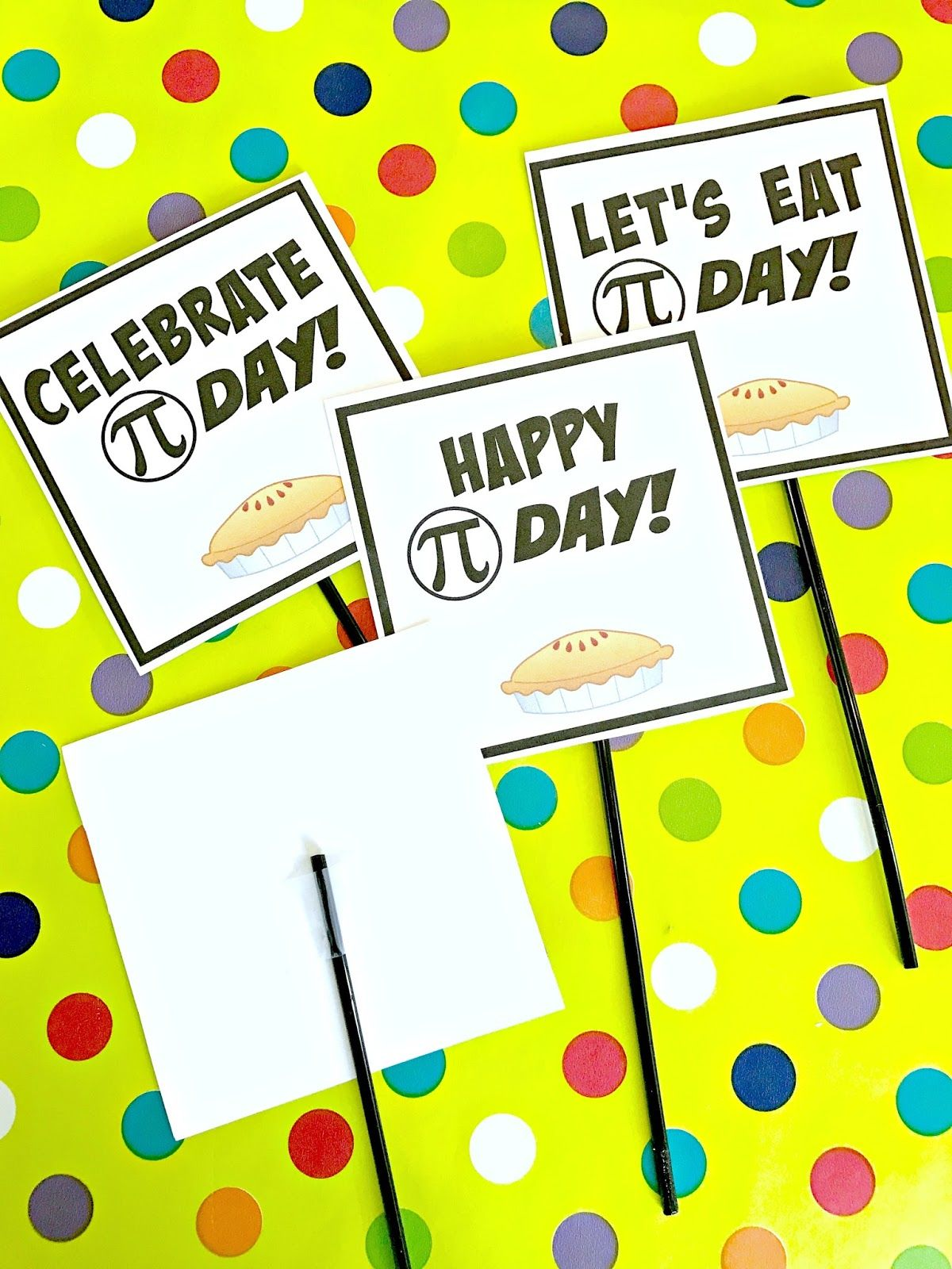 Michelle Paige Blogs Pi Day Party With Free Printables Pi Day Day Happy Day [ 1600 x 1200 Pixel ]