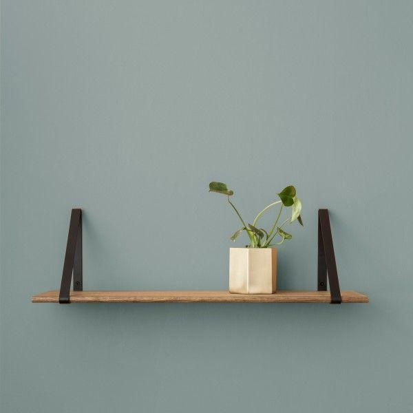 Ferm Living Wooden Shelf Hanger Wandplank Decoration Wooden Shelves And Sh