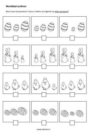 Thema Pasen Juf Anke Lesidee Kleuters Thema Lente