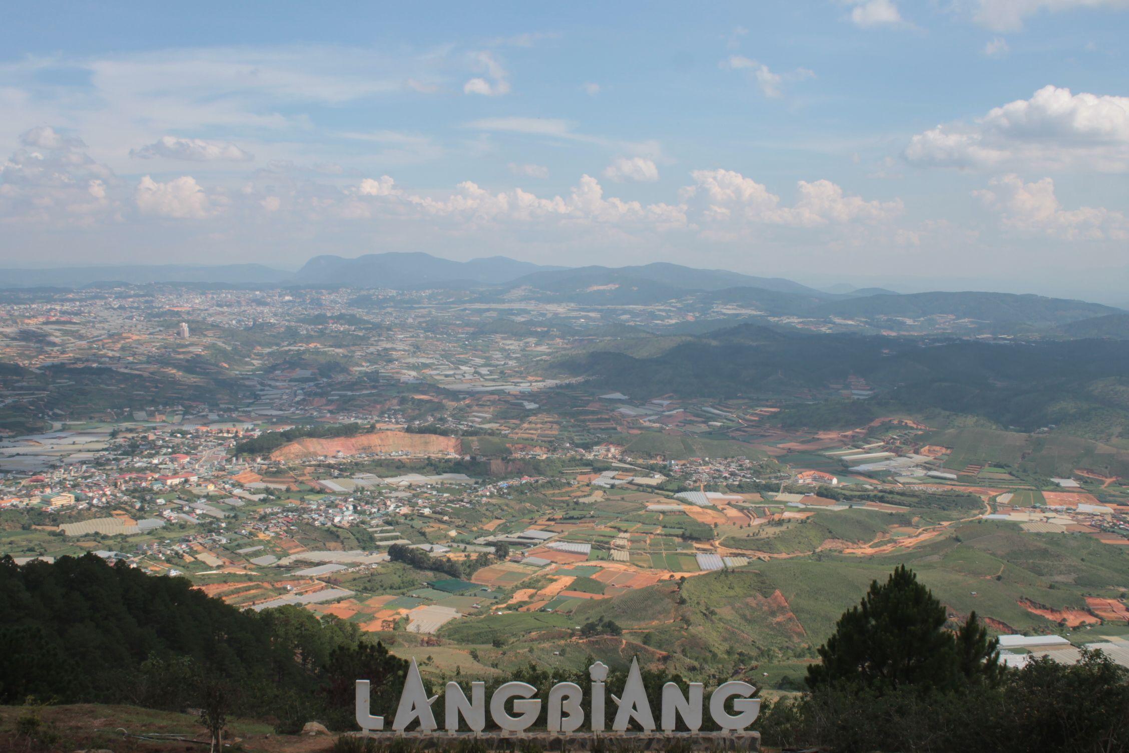 Vistas desde Lang Biang