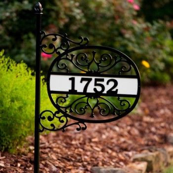 Alabama Metal Art Creates Unique One Of A Kind House Number Signs; Each Sign  Is Designed, Crafted, Powder Coated In The USA