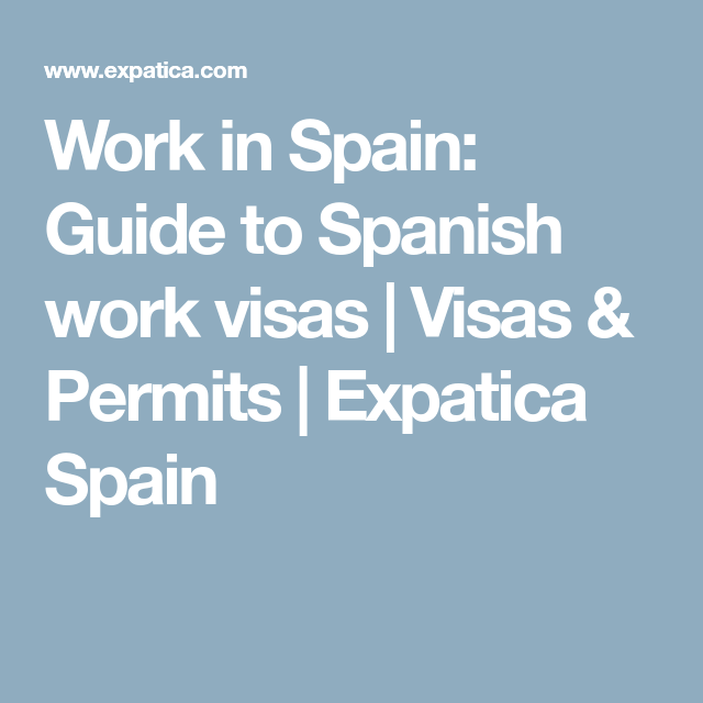 e2bd1520cd5551c833813de29310c658 - How To Get A Job In Spain As An American