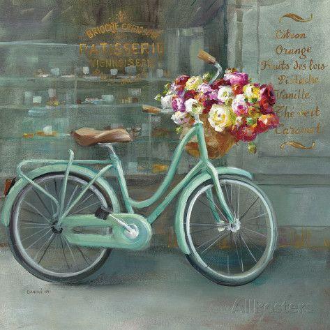 joy of paris i art par danhui nai sur design pinterest bicyclette transfert. Black Bedroom Furniture Sets. Home Design Ideas