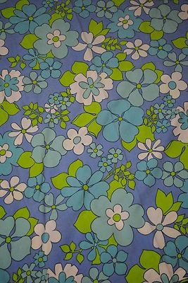 retro vintage sheridan blue floral cotton sheet and 2 pillowcases ebay