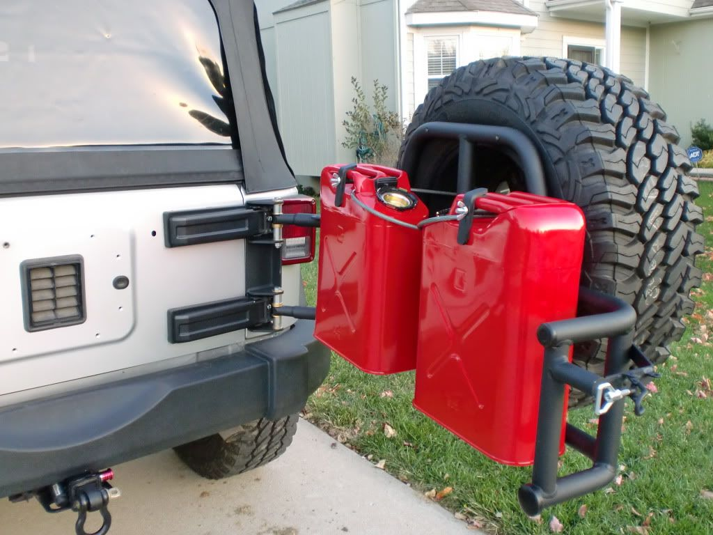 Or Fab Tire Gerry Can Carrier Additions Jeep Jk Jeep Jeep