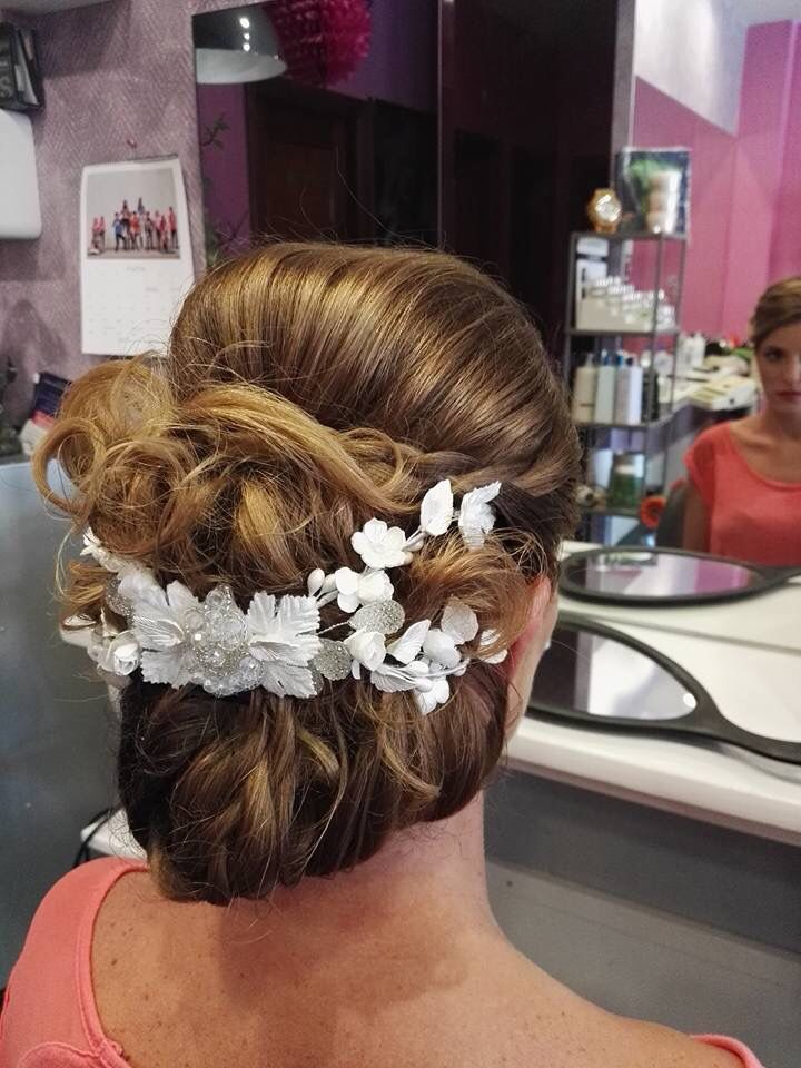 José Manuel #hairdressing #peluquero #peluqueria #recogido #boda #wedding #talaveralanueva #events #people