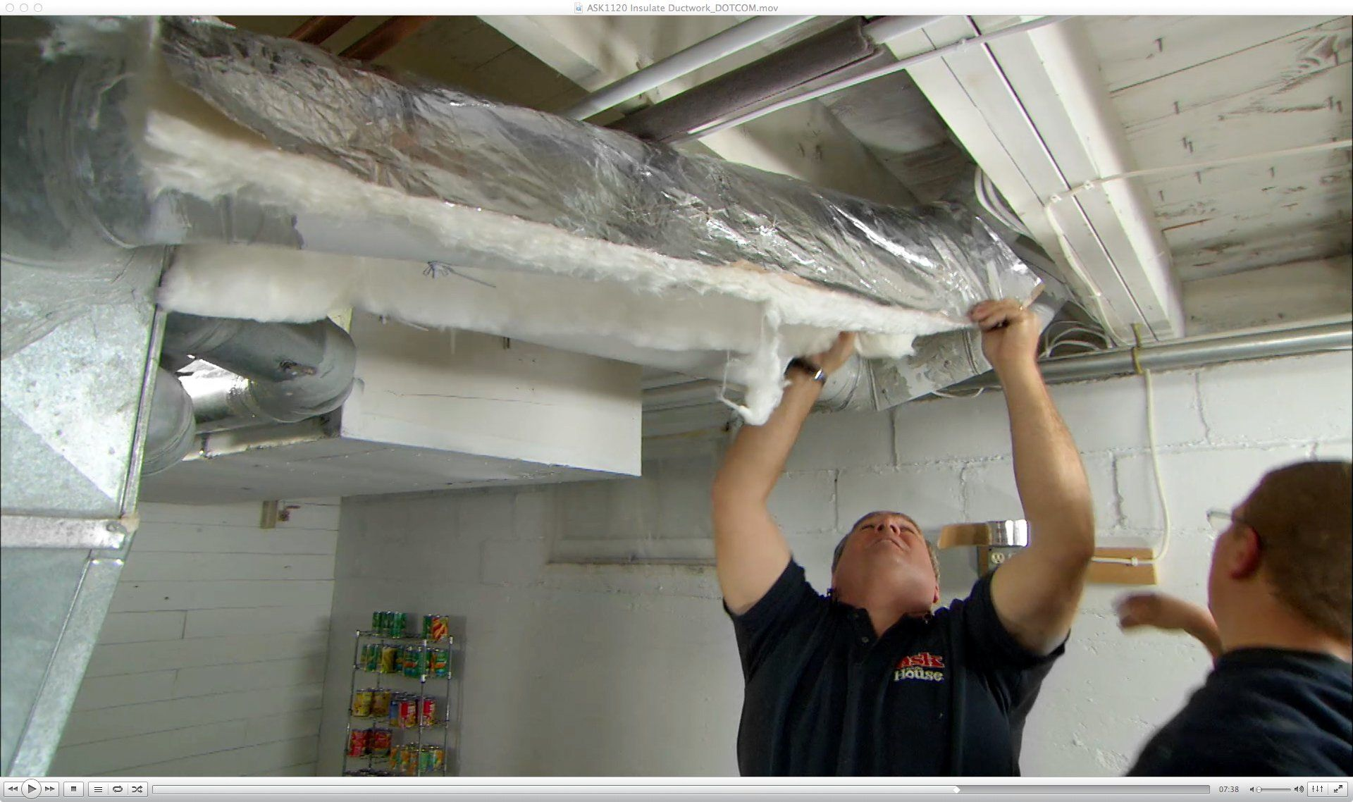 How To Insulate Ductwork Duct Work Old Houses Diy Insulation