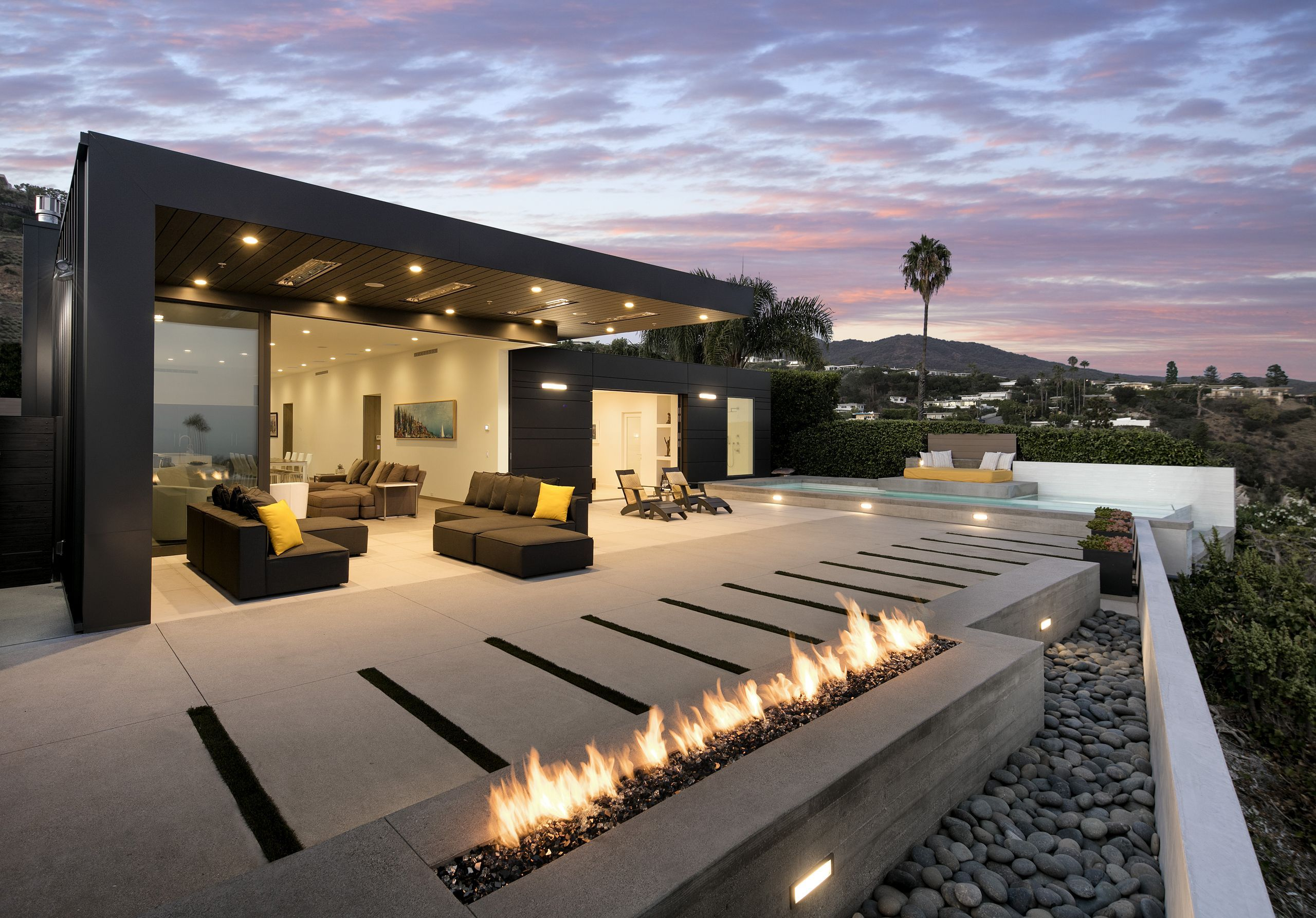 Photo of There is an infinity pool on the terrace overlooking the Pacific. A…