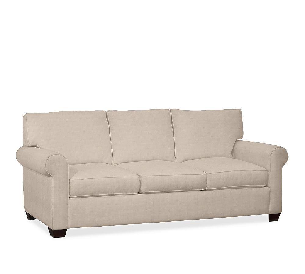 Buchanan Roll Arm Upholstered Sleeper Sofa With Memory