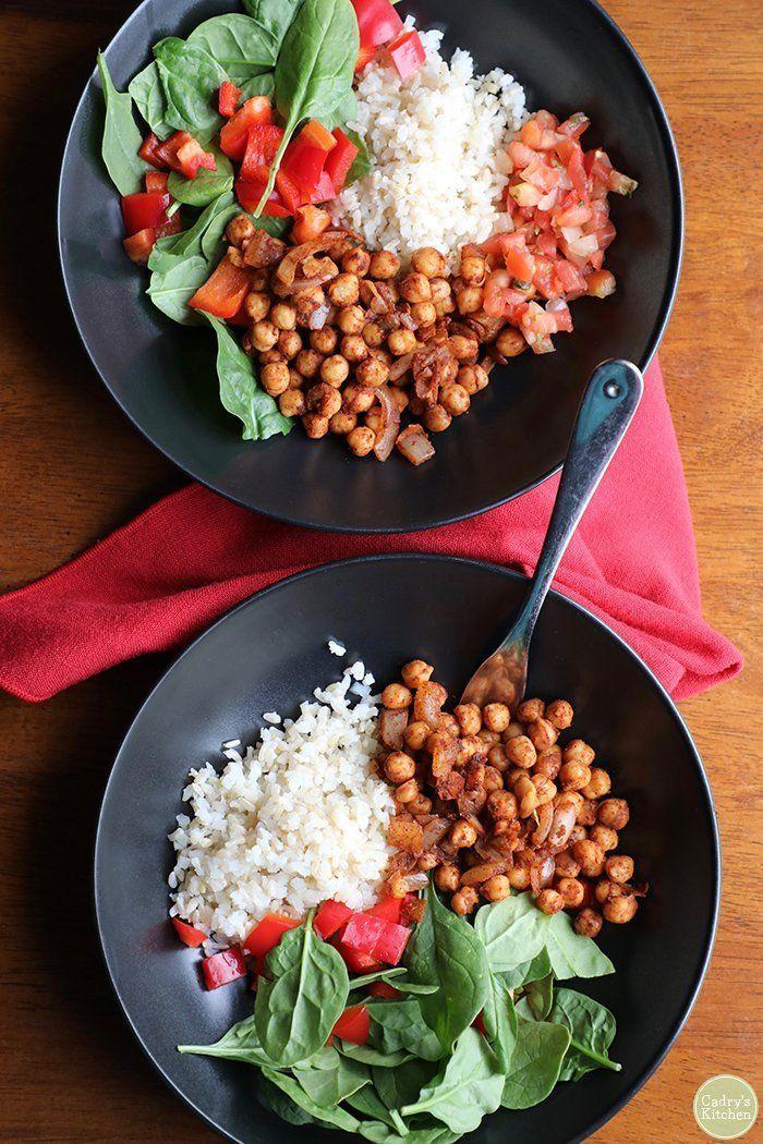 What foods do vegans eat? Vegan dinner recipes easy