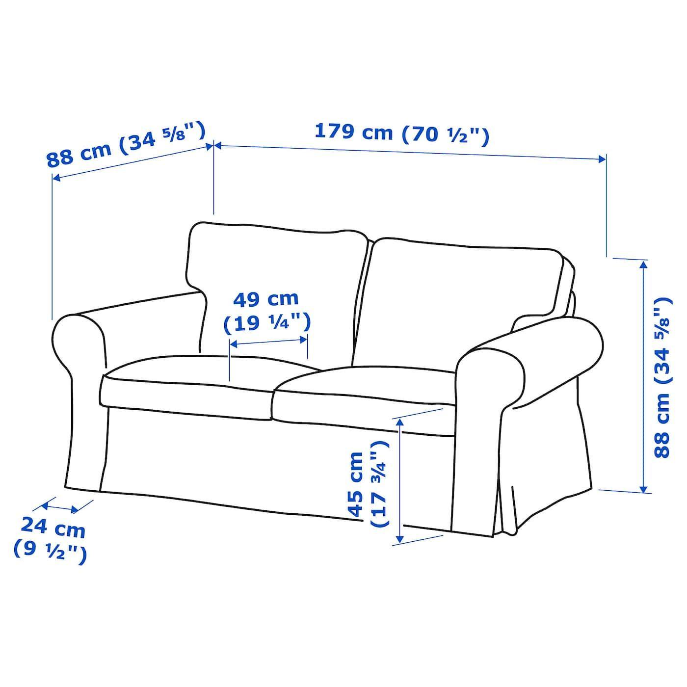 Cuscino Alla Francese Ikea ektorp divano a 2 posti - lofallet beige | amorini, ikea e